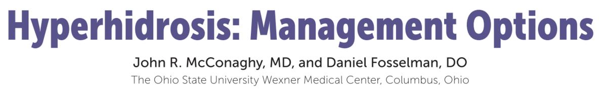 発汗過多に関する総論:原因・病態~鑑別疾患|神経内科の論文学習